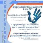 Conférence de l'AEP81 (c) AEP81 - Association pour Enfants Intellectuel