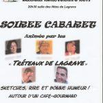Ils reviennent...soirée cabaret (c) les tréteaux de Lagrave