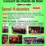 Les Nadalets Concert de chants de Noël (c) Centre Occitan del País Castrés