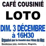 Loto (c) Comité des Fêtes du Mas Rigautou