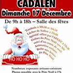Marché de Noël (c) APE Ecole de Cadalen