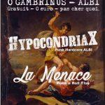 Punk X-MAS Party - Hypocondriax + La Menace (c) Pollux Association