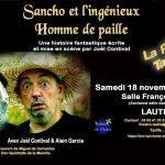 Sancho et l'Ingénieux Homme de Paille (c) Théâtre de l'Isatis