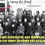 Concert Le Rang du fond - Café Aicì Sem Plan (c) Association Aici Sem Plan