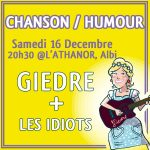 Giedre + les idiots (c) Pollux Association