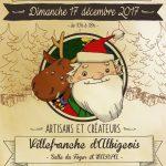 Marché de Noël à Villefranche d'Albigeois (c) mairie de villefranche d'albigeois