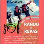 Telethon rando + repas (c) L'Animation Puycalveloise