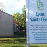 Entrée du lycée Sainte-Cécile à Albi / © Nicolas Bonduelle - France 3 Midi-Pyrénées
