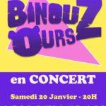 Concert - Les Binouz'ours (c) Association Aici Sem Plan