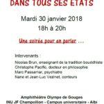 Conférence - Débat (c) SOS AMITIE