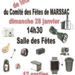 Loto Geant du Comité des Fêtes de Marssac (c) Comité des Fêtes de MARSSAC-sur-Tarn
