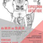 Vernissage exposition artistique à gaillac (c) Paroles de Femmes