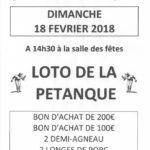 Grand loto (c) Association Pétanque Viterboise