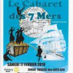 Le cabaret des 7 Mers (c) Rotary Albi Pastel