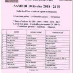 Loto des Chasseurs (c) Comité des Fêtes Olivier Rivals : 06 13