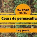 Cours de permaculture : les semis (c) Association Le Jardin d'émerveille