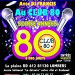 Soiree disco tous les vendredis (c) CLUB 80