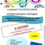 Loto (c) Association Le Temps des loisirs- Maison de R