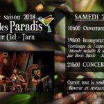 Ouverture du Jardin des Paradis (c) Jardin des Paradis
