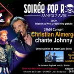 Pop/rock : Christian Almerge chante Johnny (c) Stiletto