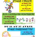 Stage d'Avril (c) MJC de Saïx