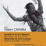 Stage danse africaine (c) Association EBENBAO