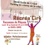 Stage de cirque Récréa'Cirk (c) Zmam école de cirque de Mazamet