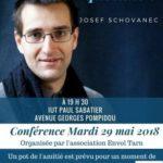 Conference joseph schovanec (c) Conférence organisée par l association ENVOL