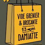 Vide grenier brocante (c) Comité des fêtes de Damiatte