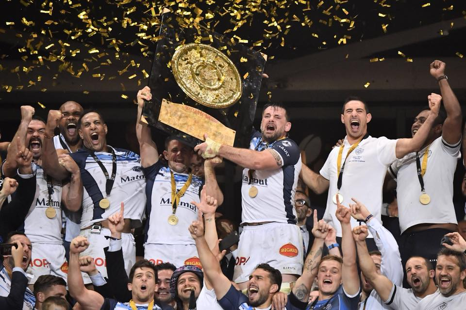 Castres Olympique, Champion de France 2018 /© Rugby : Castres Olympique Officiel