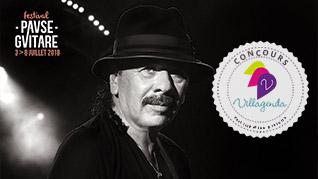 Concours Pause Guitare 2018 - Santana