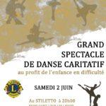 Grand Spectacle de Danse Caritatif (c) LIONS CLUB DE LAVAUR