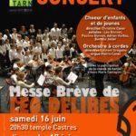 Messe Brève de Léo Delibes (c) Conservatoire de Musique et de Danse du Tarn