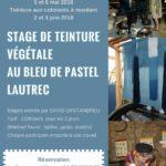 Stage de teinture végétale au bleu pastel (c) La Ferme au Village