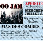Apero Concert sur les coteaux de Gaillac (c) Domaine viticole MAS DES COMBES