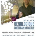 Atelier œnologique au Castela (c) Office de Tourisme Intercommunal Tarn-Agout