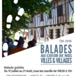 Balades au cœur de nos villes & villages (c) Office de Tourisme Intercommunal Tarn-Agout