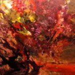 Exposition de Peinture d' Elisabeth Poiret (c) Domaine de Peyres-Combe