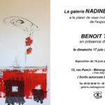 Exposition de peinture de Benoit Thiel (c) Galerie Nadine GRANIER