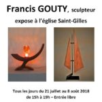 Exposition de sculptures de Francis Gouty (c) ASCLA
