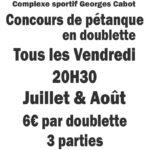 La doublette Cunacoise (c) L'us Cunac foot