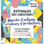 Les Estivales - Marché d'artisans créateurs (c) Collectif l'Artichouette - Ville d'Albi