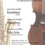 Musicales de Saint Paul de Mamiac (c) Ass des habitants de la paroisse de St Paul d