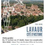 Parcours dans Lavaur cité d'histoire (c) Office de Tourisme Intercommunal Tarn-Agout