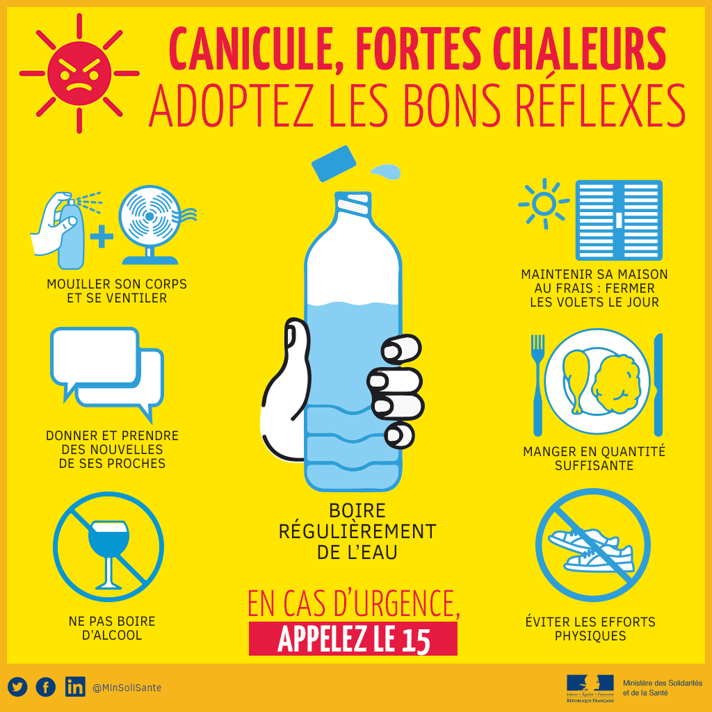 Plan canicule / © DR