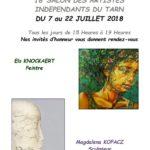Salon des artistes indépendants du Tarn (c) Atelier Bleu Cobalt