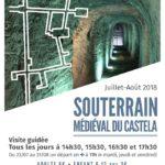 Souterrain médiéval du Castela (c) Office de Tourisme Intercommunal Tarn-Agout