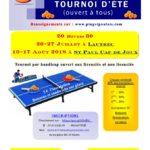 Tournoi de Tennis de Table (c) Ping Saint-Paulais