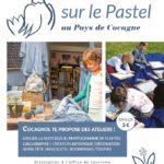 Atelier pastel enfants - Boomerang et toupie (c) Office de tourisme du Lautrecois Pays d'Agoût
