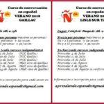 Curso de conversación en Español (c)